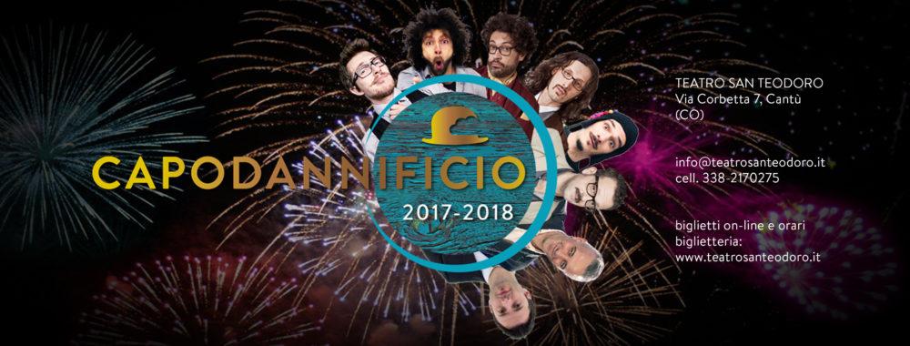 Teatro Comunale San Teodoro Cantù - Capodannificio 2017