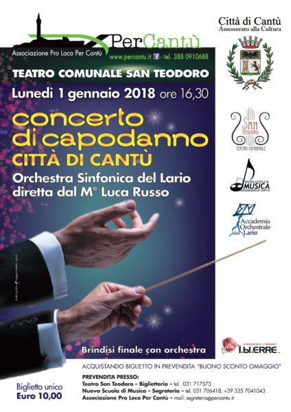 Teatro Comunale San Teodoro Cantù-concerto capodanno
