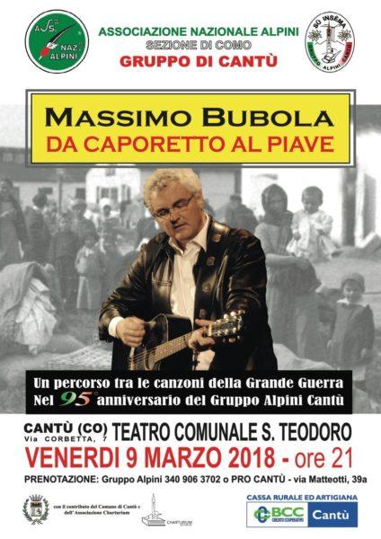 Teatro Comunale San Teodoro Cantù- Massimo Bubola