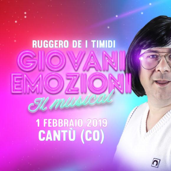 GIOVANI EMOZIONI - Ruggero de I Timidi